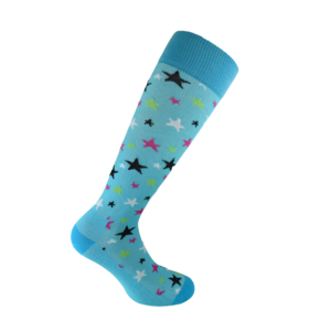 Starling Blue compression socks
