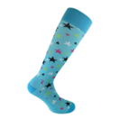 Starling Blue compression socks