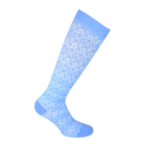 Compression socks Everyday Chic Blue Cotton